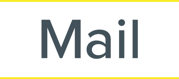 Mail Logo Yellow